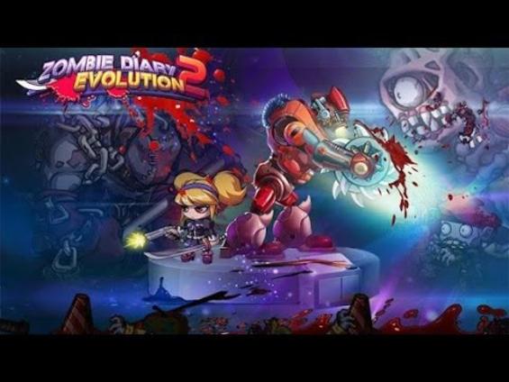 Скриншоты игры Zombie diary 2: Evolution для Android. Игровой процесс Днев